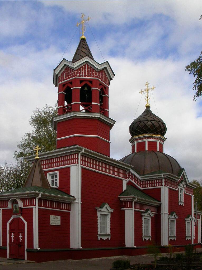 православный храм — Храм Великомученика и Победоносца Георгия — Ивантеевка, фото №1