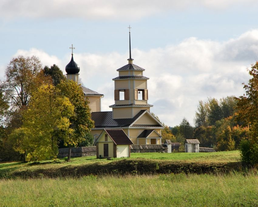 православный храм — Церковь Георгия Победоносца в Ворониче — undefined, фото №4