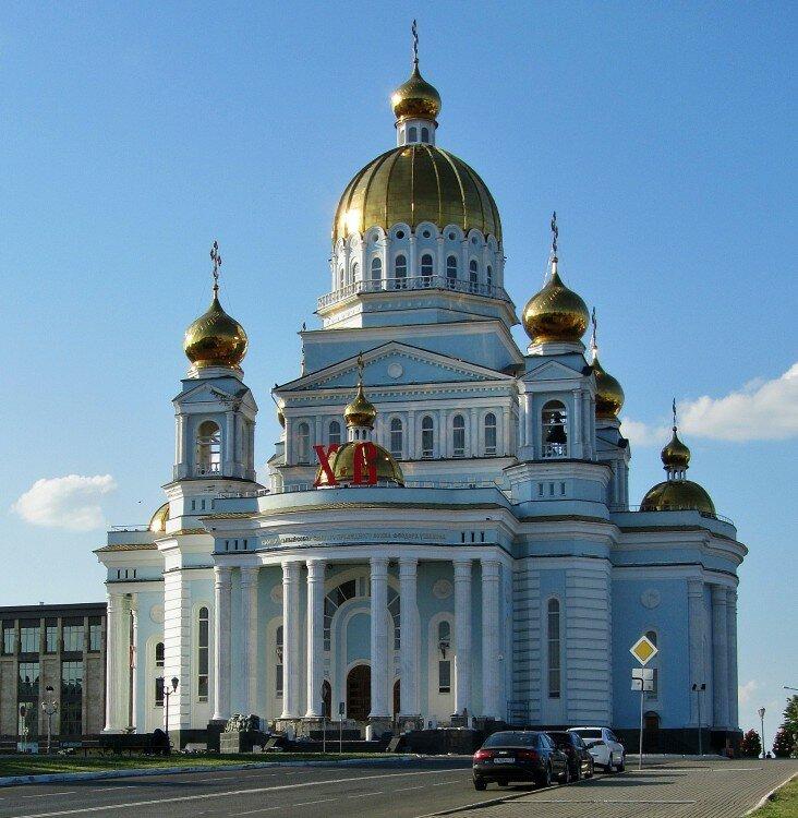 православный храм — Кафедральный собор Феодора Ушакова — Саранск, фото №1
