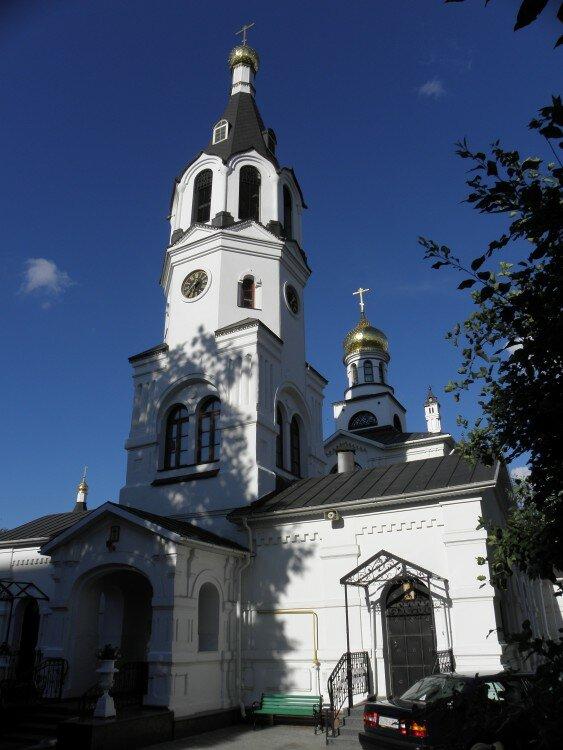 православный храм — Церковь святого Николая Чудотворца — Гомель, фото №2