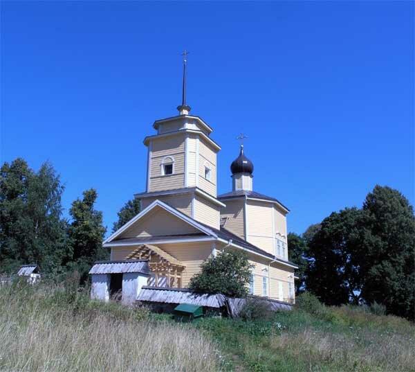православный храм — Церковь Георгия Победоносца в Ворониче — undefined, фото №1