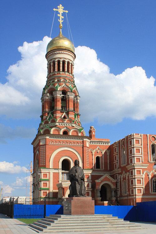 православный храм — Кафедральный собор Благовещения Пресвятой Богородицы — Йошкар-Ола, фото №2