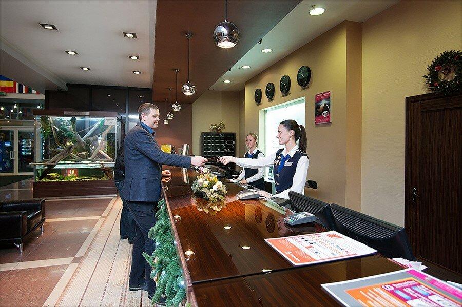 гостиница — Marins Park Hotel — Новосибирск, фото №5