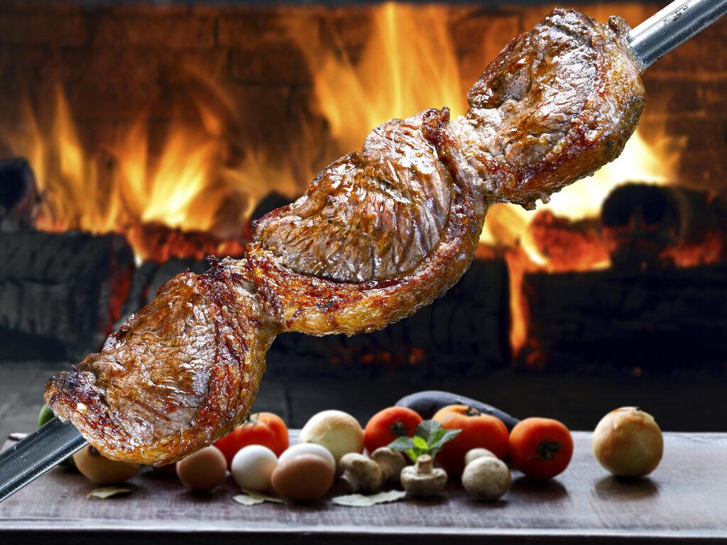 штормового картинка мясо на углях например, рисовать деревья