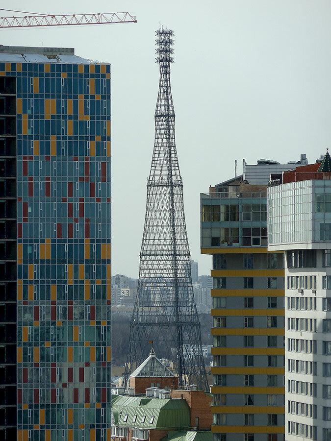 достопримечательность — Шуховская башня — Москва, фото №4