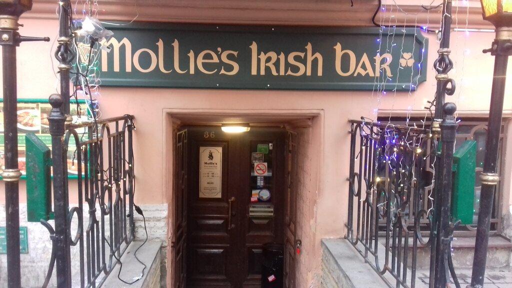 pub, bar — Mollie's — Saint Petersburg, фото №1