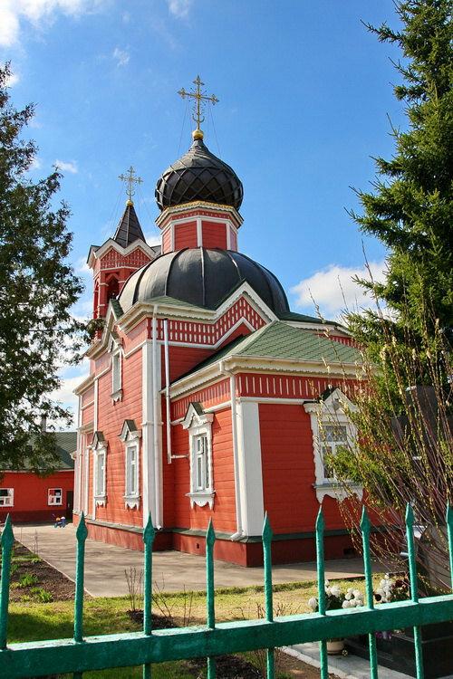 православный храм — Храм Великомученика и Победоносца Георгия — Ивантеевка, фото №8