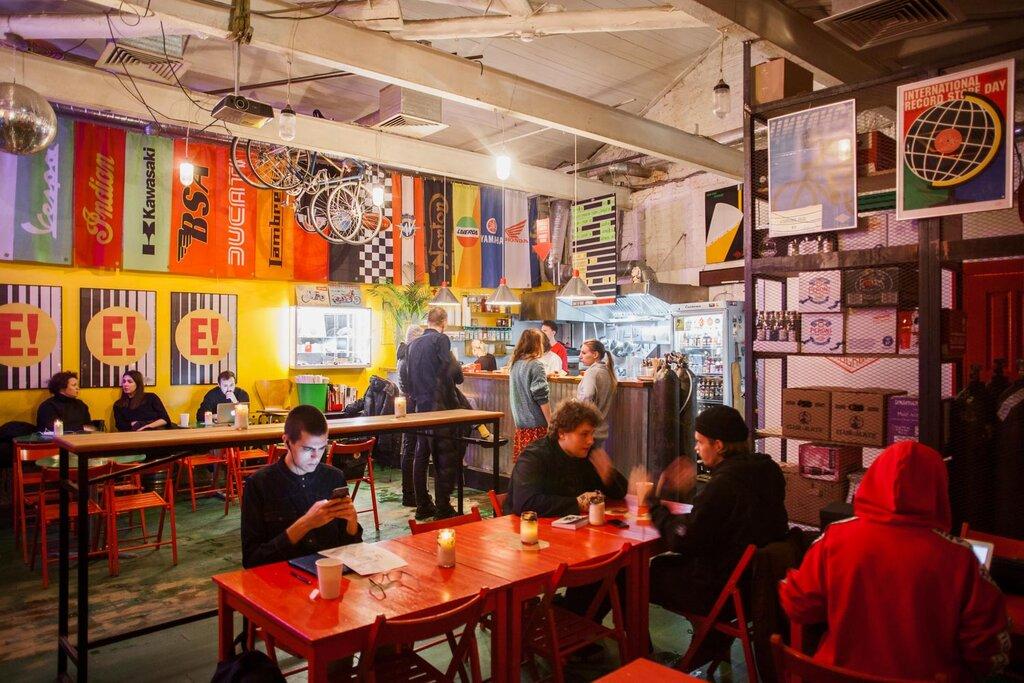 кафе — Энтузиаст — Москва, фото №1