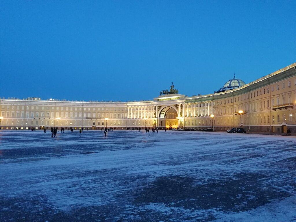 достопримечательность — Зимний дворец — Санкт-Петербург, фото №1