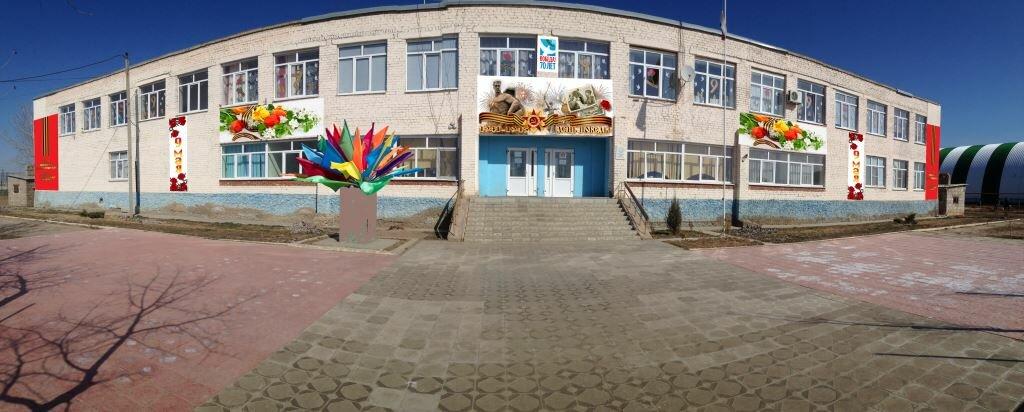 общеобразовательная школа — Трехпротокская средняя общеобразовательная школа — Астраханская область, фото №1