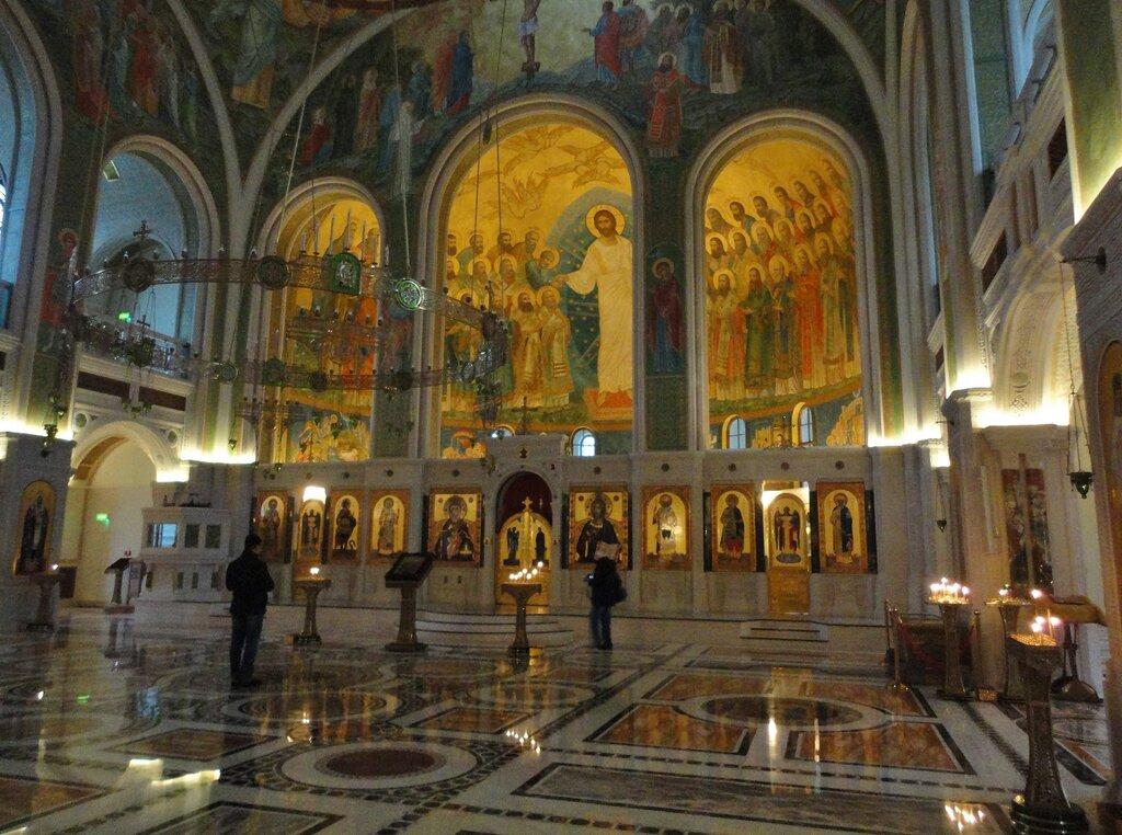 православный храм — Церковь Новомучеников и Исповедников Российских в Сретенском монастыре — Москва, фото №8