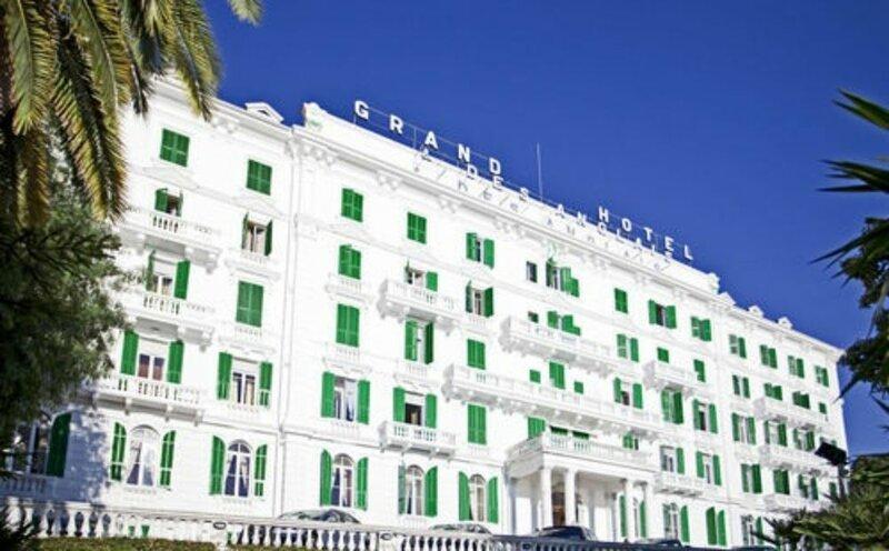 Отель Grand Hotel & Des Anglais Sanremo