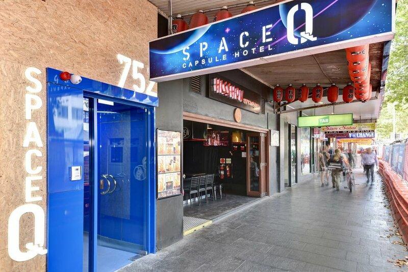 Space Q Capsule Hotel