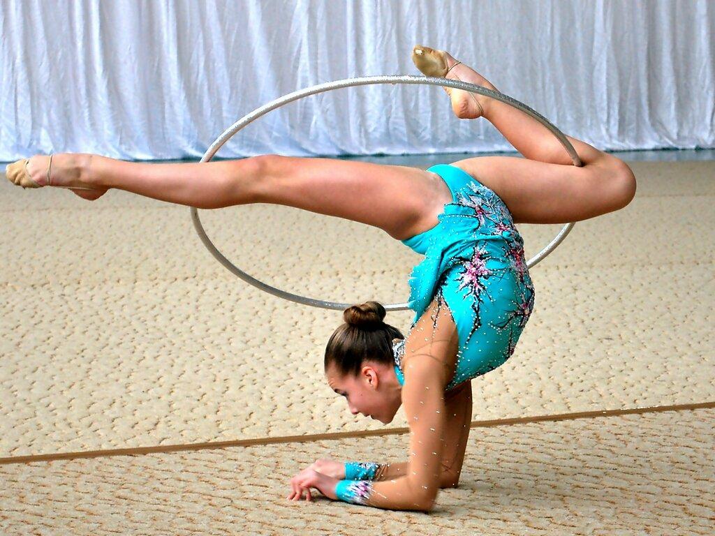 Девку гимнастика фото и видео