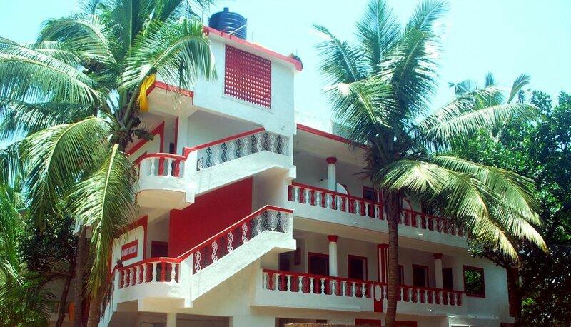 Calangute beach side hotel