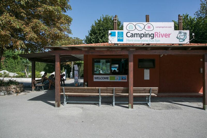 Holiday chalets on Camping River Village