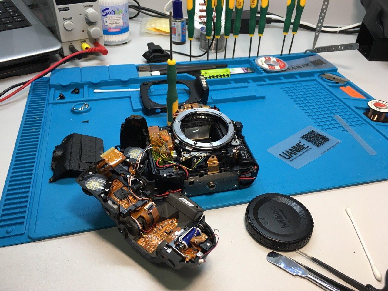 круглосуточный ремонт фотоаппаратов совсем молодое