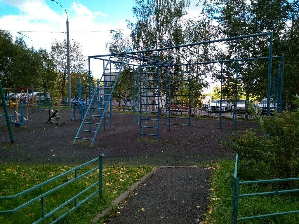 sports activity location — Спортивная площадка — Moscow, фото №10