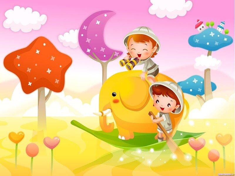 Детский сад веселые картинки