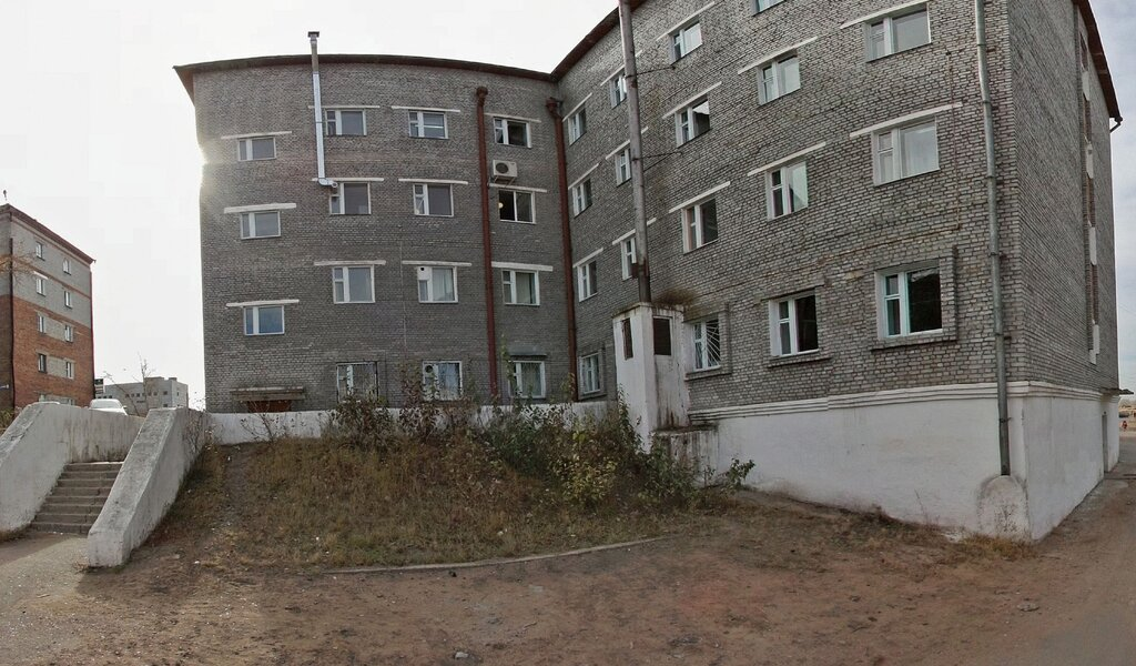 Панорама поликлиника для взрослых — Городская поликлиника № 5 — Улан-Удэ, фото №1
