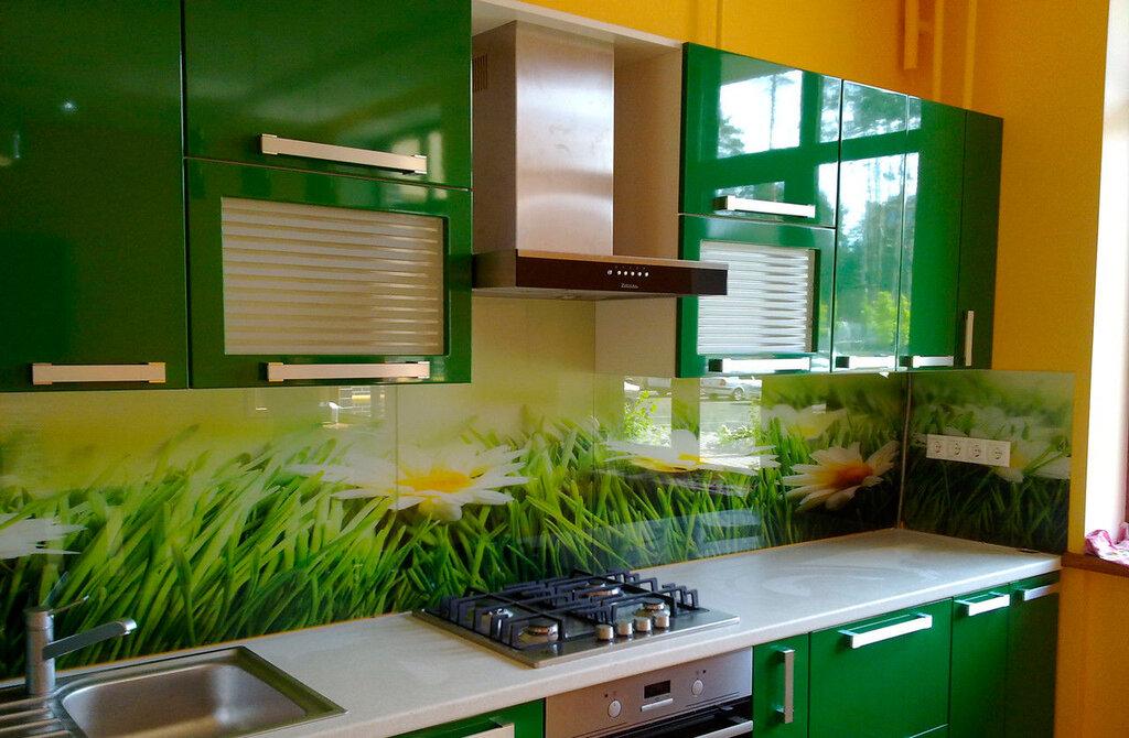 Дизайн рабочей стенки кухни фото