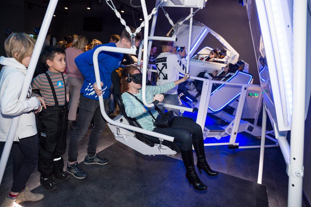 клуб виртуальной реальности — Arena Space - сеть парков виртуальной реальности — Москва, фото №10