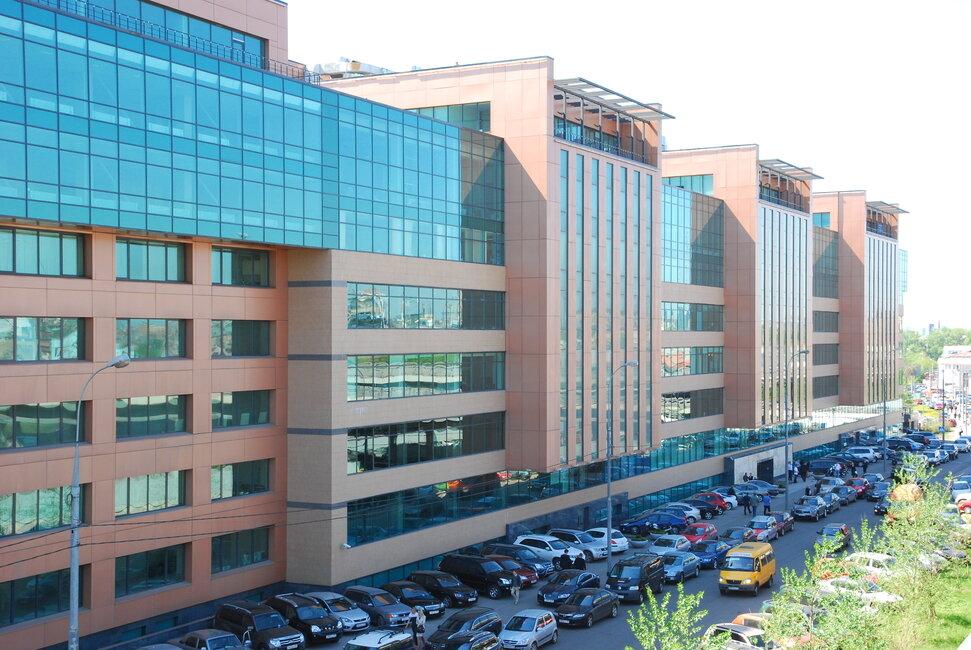бизнес-центр — Магистраль плаза — Москва, фото №1