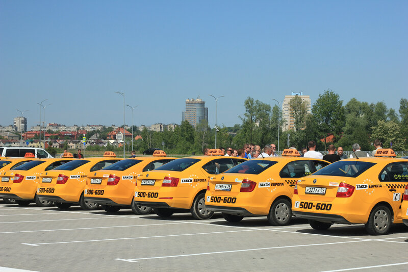 Такси Европа - фотография №3