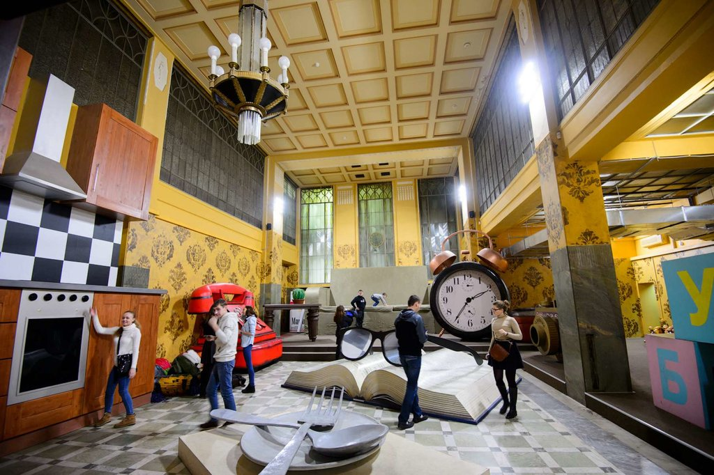 развлекательный центр — Дом великана GIANT HOUSE — Москва, фото №5