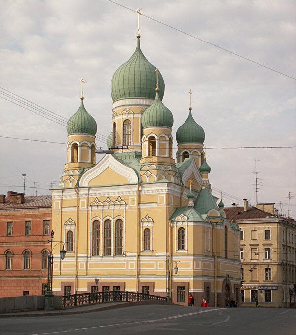православный храм — Церковь святого Исидора Юрьевского — Санкт-Петербург, фото №2