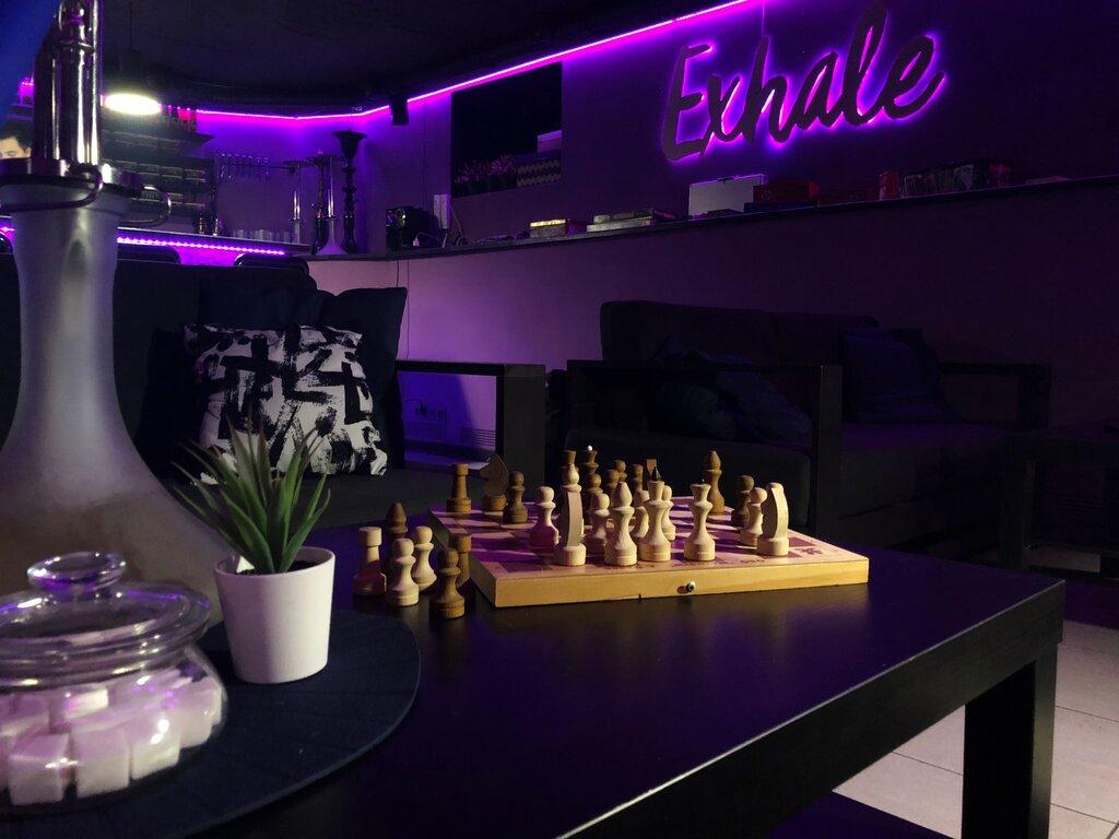 hookah bar — Exhale — Saint Petersburg, фото №1