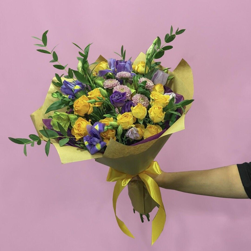 Заказать цветы с доставкой ярославль до 1000р, десерт необычные букеты