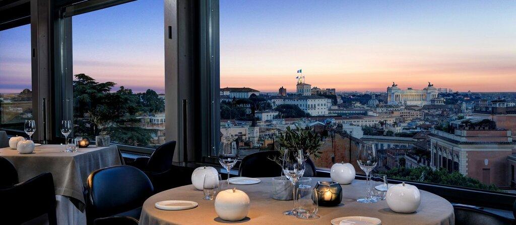 La Terrazza Restaurant Metro Barberini Rome Reviews