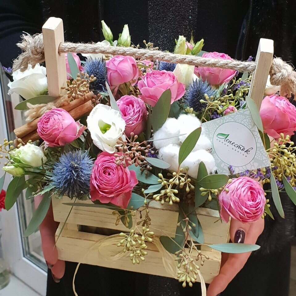доставка цветов и букетов — Лепесток — Минск, фото №1