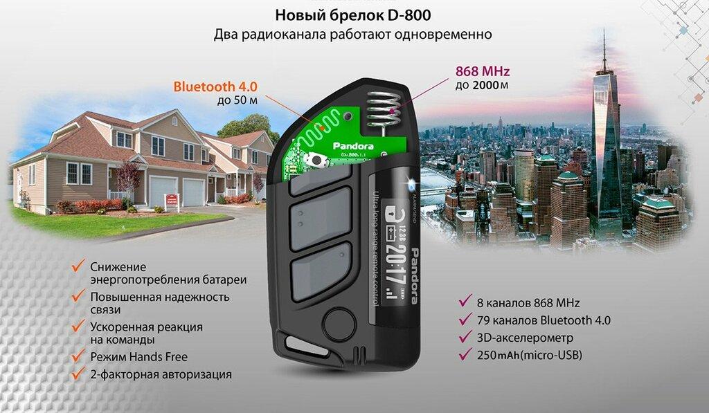 автосигнализация — Pandora DXL — Москва, фото №1