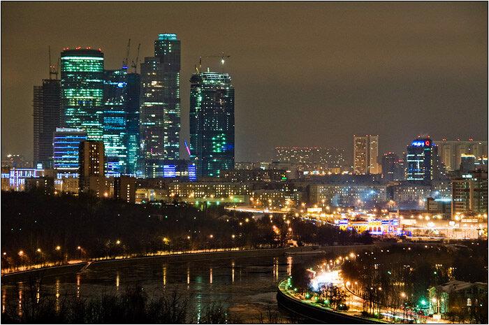смотровая площадка — Смотровая площадка Воробьёвы горы — Москва, фото №1