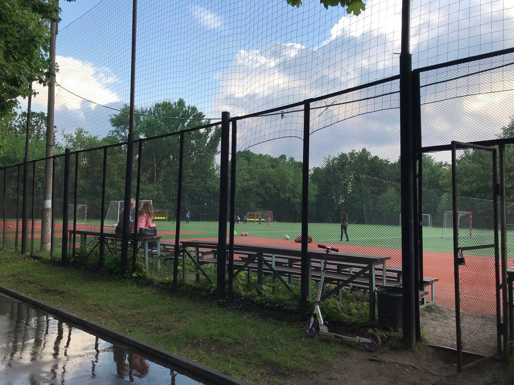 sports activity location — Футбольное поле — Moscow, фото №2