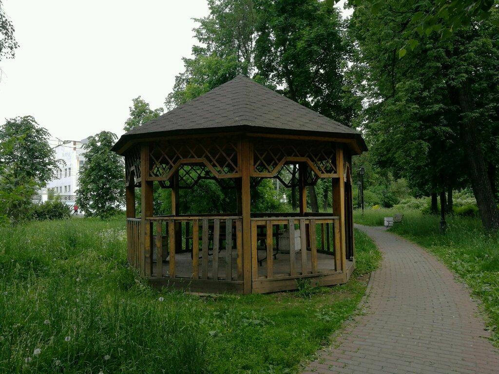 Картинки беседки в парке добросельский