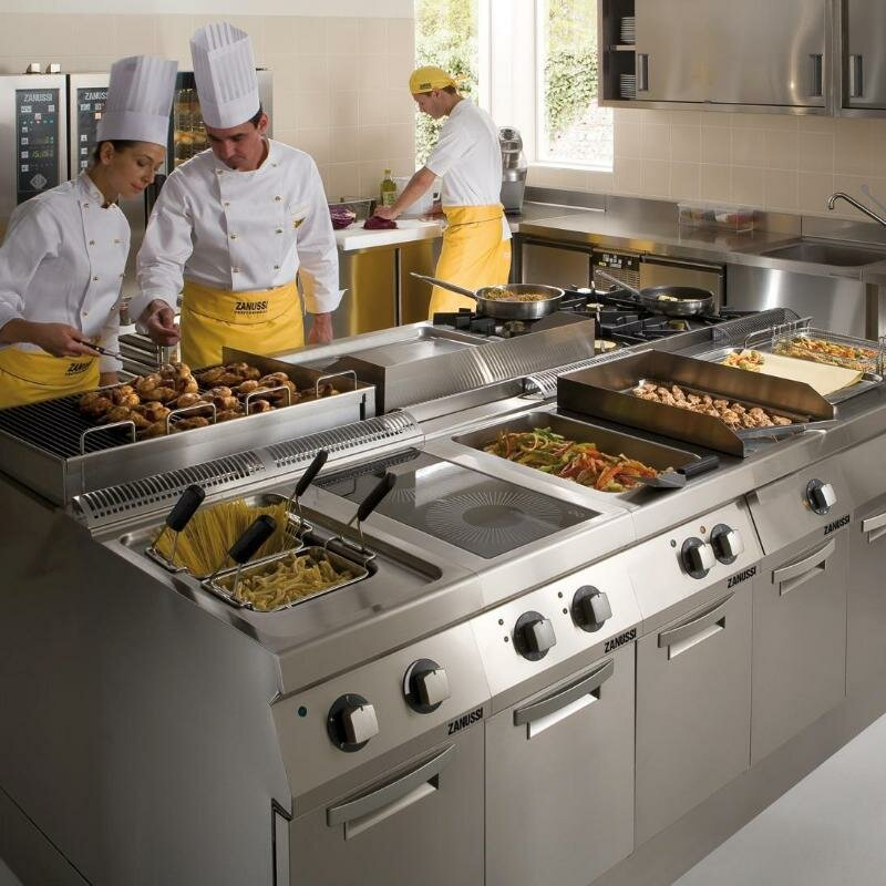 Производственная кухня фото