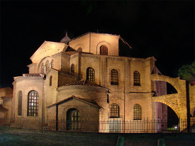 католический храм — Сан-Витале — город Равенна, фото №3