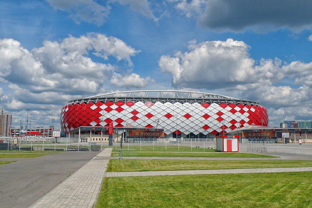 стадион — Открытие Арена — Москва, фото №1