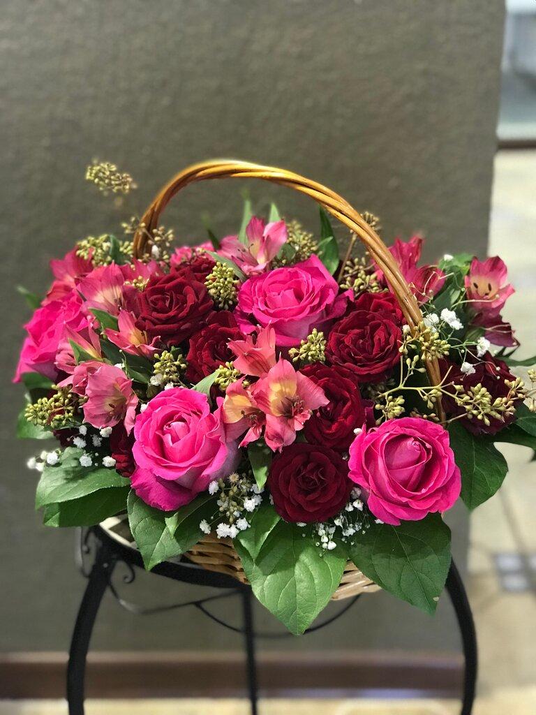 Сердце, цветы и букеты доставка цветов по москве