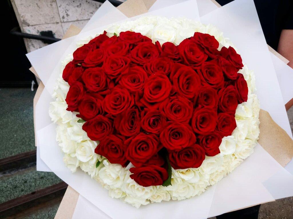 Букеты, заказ 55 роз набережные челны