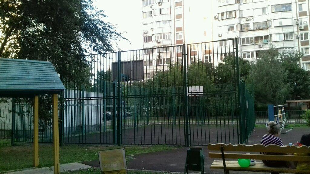 sports activity location — Баскетбольная площадка — Moscow, фото №1