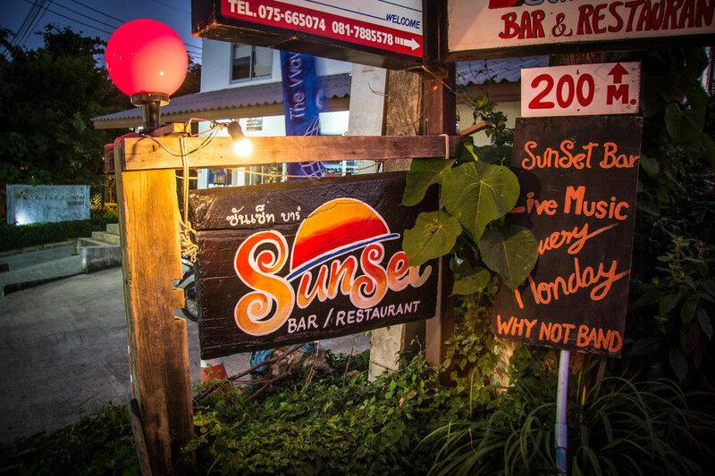 Lanta Topview Resort Sunset Bar Restaurant