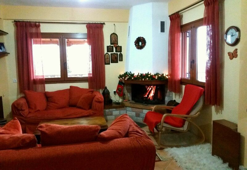 Guest house with view to Lake Plastira