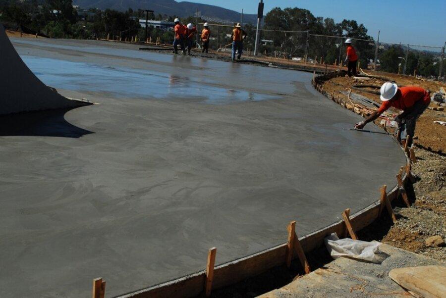 схватывается бетон