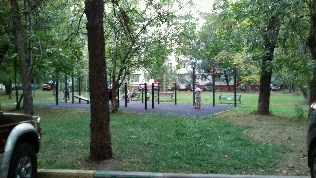 sports activity location — Спорттвная площадка — Moscow, фото №1
