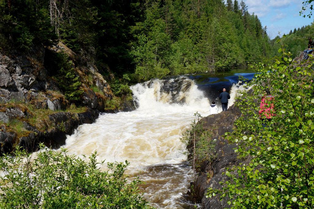 waterfall — Кивач — undefined, фото №1