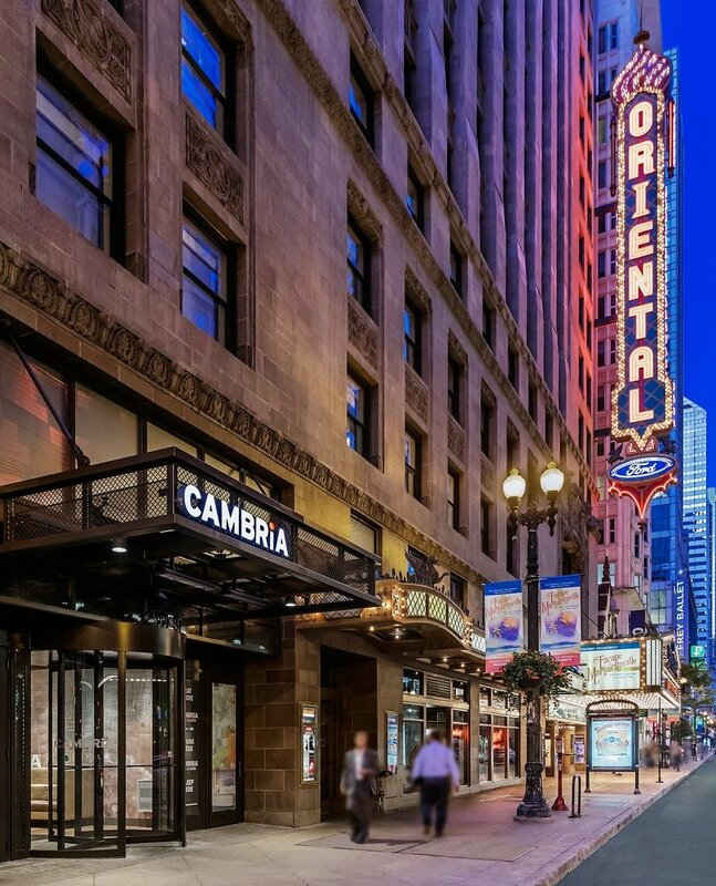 Cambria Hotel And Suites Chicago Loop/Theatre District